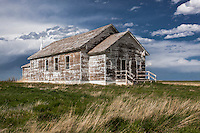 Old abandoned school house near Hemingford, NE