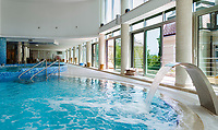 Croatia, Kvarner Gulf, Opatija: at Thalasso Wellness Centar Opatija, indoor-swimming-pool | Kroatien, Kvarner Bucht, Opatija: im Thalasso Wellness Centar Opatija, der indoor-swimming-pool