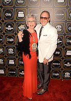 "NEW YORK, NY - May 12 : Rita Moreno (L) and Emilio Estefan pictured at People  En Espanol'S ""50 Most  Beautiful "" Event  in New York, NYC on May 12, 2014 © HP/Starlitepics. /NortePhoto"