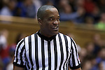 31 December 2014: Referee Earl Walton. The Duke University Blue Devils hosted the Wofford College Terriers at Cameron Indoor Stadium in Durham, North Carolina in a 2014-16 NCAA Men's Basketball Division I game.