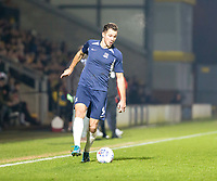 3rd December 2019; Pirelli Stadium, Burton Upon Trent, Staffordshire, England; English League One Football, Burton Albion versus Southend United; Tom Hopper of Southend United breaks down the side line with the ball at his feet - Strictly Editorial Use Only. No use with unauthorized audio, video, data, fixture lists, club/league logos or 'live' services. Online in-match use limited to 120 images, no video emulation. No use in betting, games or single club/league/player publications