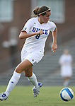 07 September 2007: Duke's KayAnne Gummersall. The Duke University Blue Devils defeated the Yale University Bulldogs 1-0 at Fetzer Field in Chapel Hill, North Carolina in an NCAA Division I Women's Soccer game, and part of the annual Nike Carolina Classic tournament.