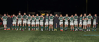Ealing Trailfinders players following victory in the Greene King IPA Championship match between Ealing Trailfinders and London Welsh RFC at Castle Bar , West Ealing , England  on 26 November 2016. Photo by David Horn / PRiME Media Images