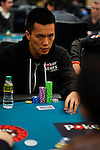 PokerStars Sponsored Player Nam Le stares down an opponent.