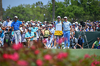 Rickie Fowler (USA) looks over his tee shot on 3 during round 1 of The Players Championship, TPC Sawgrass, at Ponte Vedra, Florida, USA. 5/10/2018.<br /> Picture: Golffile | Ken Murray<br /> <br /> <br /> All photo usage must carry mandatory copyright credit (&copy; Golffile | Ken Murray)