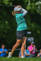Stacy Lewis (USA) watches her tee shot on 15 during round 2 of the 2018 KPMG Women's PGA Championship, Kemper Lakes Golf Club, at Kildeer, Illinois, USA. 6/29/2018.<br /> Picture: Golffile | Ken Murray<br /> <br /> All photo usage must carry mandatory copyright credit (© Golffile | Ken Murray)