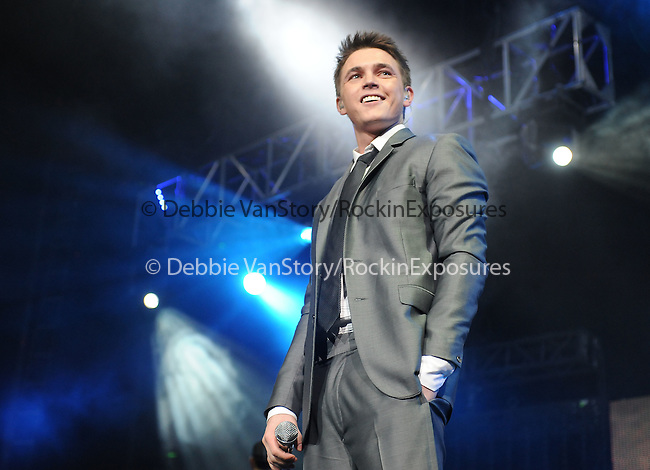 Jesse McCartney live at The102.7?s KIIS-FM?s Jingle Ball 08 held at The Honda Center in Anaheim, California on December 06,2008                                                                     Copyright 2008 Debbie VanStory/RockinExposures.