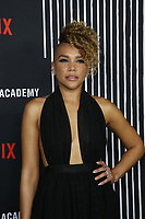 "LOS ANGELES - FEB 12:  Emmy Raver-Lampman at the ""The Umbrella Academy"" Premiere at the ArcLight Hollywood on February 12, 2019 in Los Angeles, CA"