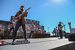 The Josh Abbott band in action during the Monster Energy NASCAR Cup Series, AAA Texas 500, race at the Texas Motor Speedway in Fort Worth,Texas.
