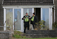 2017 10 17 Drugs raid at an address in Waunarlwydd, Swansea, UK