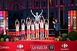 Last Stage of La Vuelta 2019 . September 15, 2019. (ALTERPHOTOS/Francis Gonzalez)