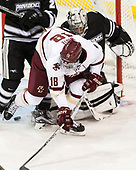 Colin White (BC - 18) The Boston College Eagles defeated the visiting Providence College Friars 3-1 on Friday, October 28, 2016, at Kelley Rink in Conte Forum in Chestnut Hill, Massachusetts.