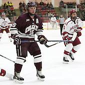 Darcy Murphy (Colgate - 15) - The Harvard University Crimson defeated the visiting Colgate University Raiders 7-4 (EN) on Saturday, February 20, 2016, at Bright-Landry Hockey Center in Boston, Massachusetts,