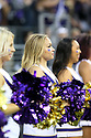SEATTLE, WA - September 22:  Washington cheerleader Alia Levi  entertained fans during the college football game between the Washington Huskies and the Arizona State Sun Devils on September 22, 2018 at Husky Stadium in Seattle, WA. Washington won 27-20 over Arizona State.