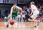 S&ouml;dert&auml;lje 2014-04-15 Basket SM-Semifinal 5 S&ouml;dert&auml;lje Kings - Uppsala Basket :  <br /> S&ouml;dert&auml;lje Kings Toni Bizaca i aktion <br /> (Foto: Kenta J&ouml;nsson) Nyckelord:  S&ouml;dert&auml;lje Kings SBBK Uppsala Basket SM Semifinal Semi T&auml;ljehallen portr&auml;tt portrait