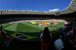 Two team groups,<br /> JUNE 28, 2014 - Football / Soccer :<br /> FIFA World Cup Brazil 2014 Round of 16 match between Brazil 1(3-2)1 Chile at Estadio Mineirao in Belo Horizonte, Brazil. (Photo by D.Nakashima/AFLO)