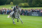 Stamford, Lincolnshire, United Kingdom, 7th September 2019, Will Furlong (GB) riding Collien P2 during the Cross Country Phase on Day 3 of the 2019 Land Rover Burghley Horse Trials, Credit: Jonathan Clarke/JPC Images