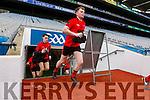 Mark O'Sullivan Glenbeigh Glencar in action against  Rock Saint Patricks in the Junior Football All Ireland Final in Croke Park on Sunday.