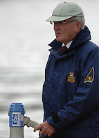 Henley, Great Britain. Henley Royal Regatta Chairman Mike SWEENEY, umpiring a race at the 2007 Henley Royal Regatta,  Henley Reach, England 05/07/2007  [Mandatory credit Peter Spurrier/ Intersport Images]. Rowing Courses, Henley Reach, Henley, ENGLAND . HRR.