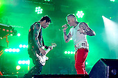 The Prodigy - vocalist Keith Flint - performing live on the main stage on Day Two at the Radio One Big Weekend held at Lydiard Park, Swindon UK - 10 May 2009.<br />   Photo credit: George Chin/IconicPix