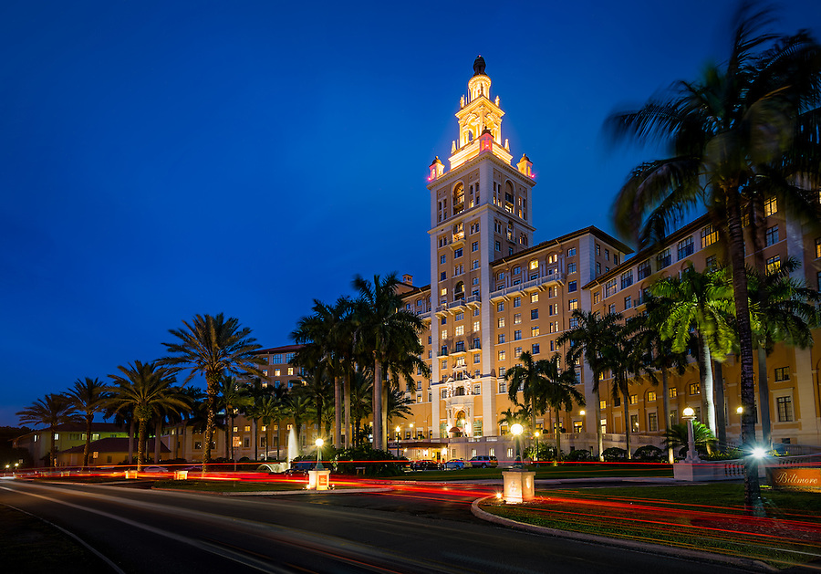 MIAMI - CIRCA APRIL 2013: The Biltmore Hotel circa April 2013.  It was designated a National Historic Landmark in 1996