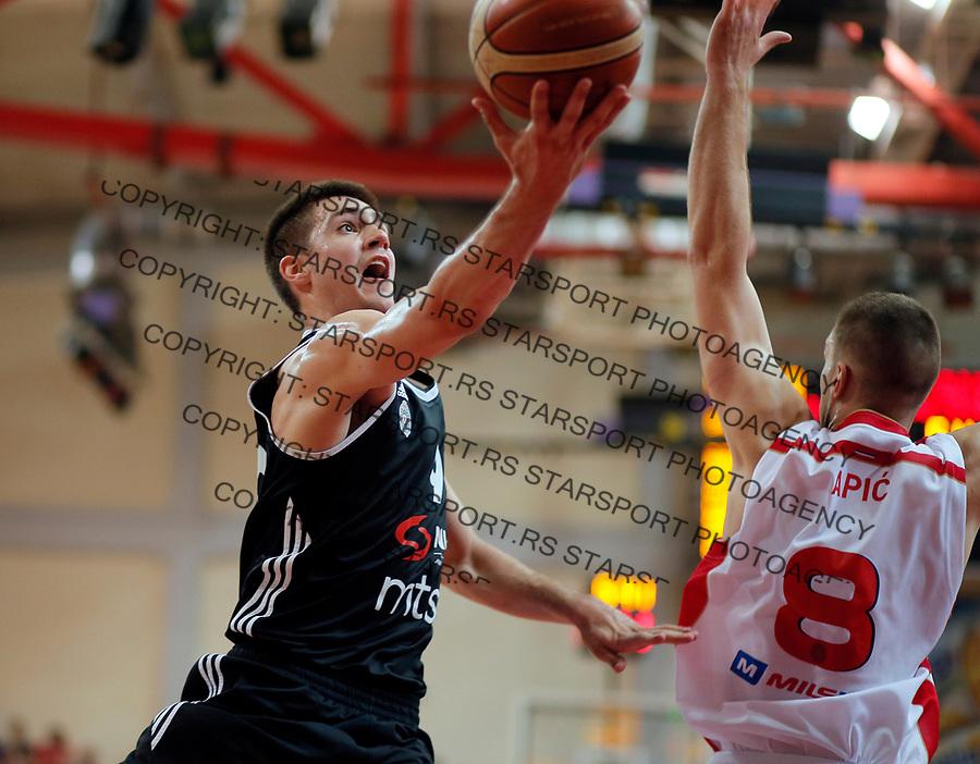 Vanja Marinkovic KLS Kosakraska liga Srbije, FMP - Partizan 31.5.1017. MAJ  31. 2017. (credit image & photo: Pedja Milosavljevic / STARSPORT)