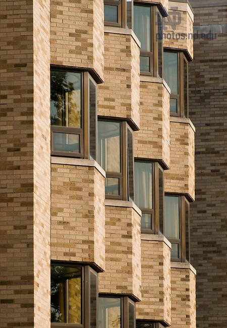 Jul. 8, 2013; Knott Hall windows<br /> <br /> Photo by Matt Cashore/University of Notre Dame