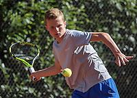 Hilversum, Netherlands, August 10, 2016, National Junior Championships, NJK, Jesper de Jong (NED)<br /> Photo: Tennisimages/Henk Koster