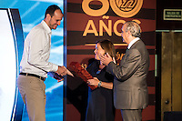 Carlos Jimenez during the 80th Aniversary of the National Basketball Team at Melia Castilla Hotel, Spain, September 01, 2015. <br /> (ALTERPHOTOS/BorjaB.Hojas) / NortePhoto.Com