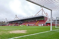 General view of the main stand ahead of Crawley Town vs Oldham Athletic, Sky Bet EFL League 2 Football at Broadfield Stadium on 7th March 2020