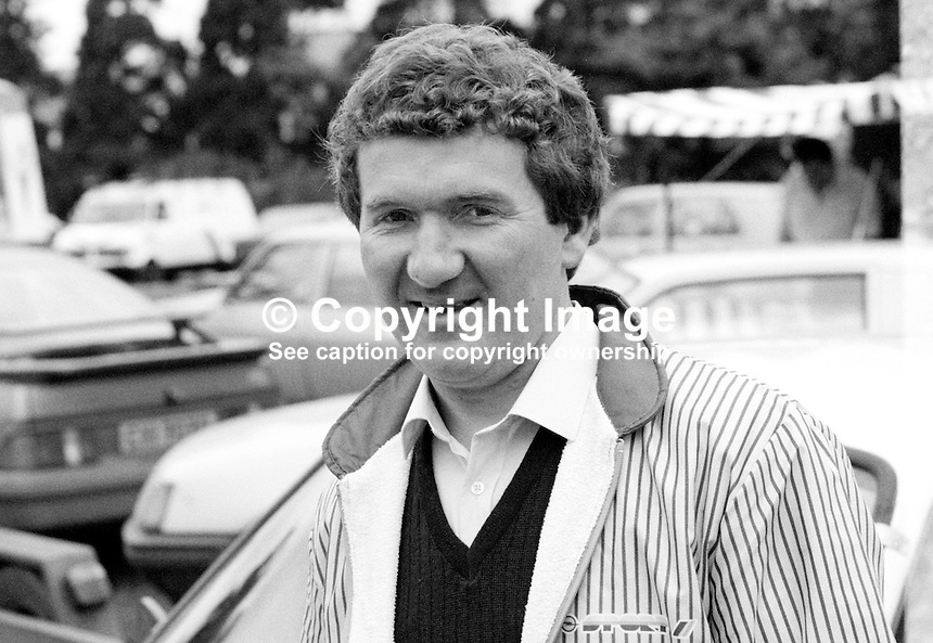 Bertie Fisher, Ballinamallard, Co Fermanagh, N Ireland, UK, rally driver, motor sport, sport, 19850709BF2<br /> <br /> Copyright Image from Victor Patterson, 54 Dorchester Park, Belfast, UK, BT9 6RJ<br /> <br /> t: +44 28 90661296<br /> m: +44 7802 353836<br /> vm: +44 20 88167153<br /> e1: victorpatterson@me.com<br /> e2: victorpatterson@gmail.com<br /> <br /> For my Terms and Conditions of Use go to www.victorpatterson.com