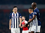 West Brom's Gareth Barry looks on dejected despite making the all time Premier League appearance record during the premier league match at the Emirates Stadium, London. Picture date 25th September 2017. Picture credit should read: David Klein/Sportimage
