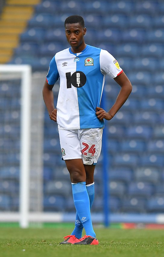 Blackburn Rovers' Tosin Adarabioyo<br /> <br /> Photographer Dave Howarth/CameraSport<br /> <br /> The EFL Sky Bet Championship - Blackburn Rovers v Bristol City - Saturday 20th June 2020 - Ewood Park - Blackburn<br /> <br /> World Copyright © 2020 CameraSport. All rights reserved. 43 Linden Ave. Countesthorpe. Leicester. England. LE8 5PG - Tel: +44 (0) 116 277 4147 - admin@camerasport.com - www.camerasport.com