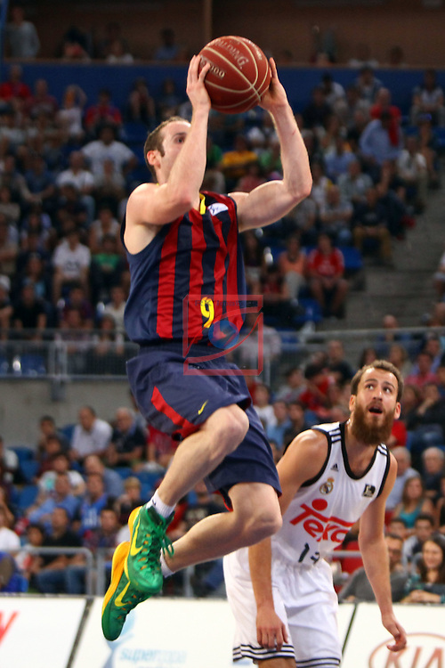 XI Supercopa ENDESA-Final.<br /> R. Madrid vs FC Barcelona: 99-78.<br /> Huertas.