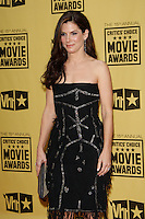 January 15, 2010:  Sandra Bullock arrives at the 15th Annual Critics' Choice Movie Awards held at the Palladium in Los Angeles, California. .Photo by Nina Prommer/Milestone Photo