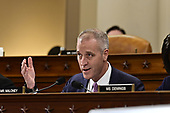 United States Representative Sean Patrick Maloney (Democrat of New York) questions Ambassador Kurt Volker, former Special United States Envoy to Ukraine and Timothy Morrison, Special Assistant to the President and Senior Director for Europe and Russia, National Security Council (NSC), as they testify during the US House Permanent Select Committee on Intelligence public hearing as they investigate the impeachment of US President Donald J. Trump on Capitol Hill in Washington, DC on Tuesday, November 19, 2019.<br /> Credit: Ron Sachs / CNP<br /> (RESTRICTION: NO New York or New Jersey Newspapers or newspapers within a 75 mile radius of New York City)
