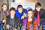 The finalists of the 2009 Killarney Rotary Club Young Musician of the Year at the final in the Malton Hotel, Killarney on Sunday evening l-r: Deirdre Glavin Tralee, Conor Cremin Muckross, Kieran Brosnan Tralee, Marie O'Connor Tralee and Marcel Vigh Killarney.