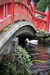 Photo shows the sacred pond at Fujisan Hongu Sengen Taisha in Fujinomiya City, Shizuoka Prefecture Japan on 01 Oct. 2012.  Photographer: Robert Gilhooly