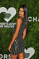 NEW YORK, NY - OCTOBER 17: Sara Sampaio at the God's Love We Deliver Golden Heart Awards on October 17, 2016 in New York City. Credit: John Palmer/MediaPunch