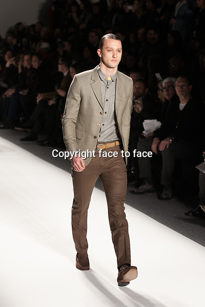 Sergio Davila presenting at the Mercedes-Benz Fashion Week Fall 2013 on February 7, 2013 in New York City...Credit: MediaPunch/face to face..- Germany, Austria, Switzerland, Eastern Europe, Australia, UK, USA, Taiwan, Singapore, China, Malaysia and Thailand rights only -