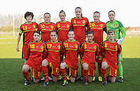 U19 Belgian Red Flames - Austria :<br /> <br /> Nationaal team U19  Belgi&euml; <br /> <br /> foto Dirk Vuylsteke / Nikonpro.be