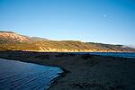 Sunset at Andrew Molera Beach, Big Sur Valley, California