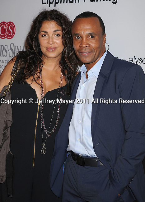 =HOLLYWOOD=, CA - SEPTEMBER 10: Sugar Ray Leonard attends the Pink Party '11 Hosted By Jennifer Garner To Benefit Cedars-Sinai Women's Cancer Program at Drai's Hollywood on September 10, 2011 in Hollywood, California.