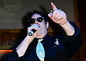 FORT LAUDERDALE, FL - MARCH 20: Dan Aykroyd performs with the Blues Brothers Soul Band at a bottle signing of Special Crystal Head Vodka bottle at Stache Lounge on Friday March 20, 2015 in Fort Lauderdale, Florida. <br /> ( Photo by Johnny Louis / jlnphotography.com )