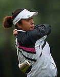 Huei-Ju Shih of Chinese Taipei in action during the Hyundai China Ladies Open 2014 on December 12 2014, in Shenzhen, China. Photo by Xaume Olleros / Power Sport Images