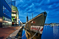 USS Torsk,Submarine Memorial, Inner Harbor, Baltimore, Maryland, USA
