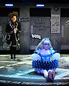 """wonder.land"", a new musical inspired by Lewis Carroll's ""Alice in Wonderland"", created by Damon Albarn, Moira Buffini and Rufus Norris, opens at the National Theatre, in the Olivier. Picture shows: Carly Bawden (Alice - Avatar), Lois Chimimba (Aly)"