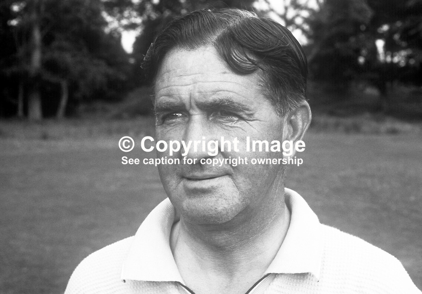 Jimmy Henderson, golfer, professional, Clandeboye Golf Club, Bangor, N Ireland, July, 1969. 196907000192<br />