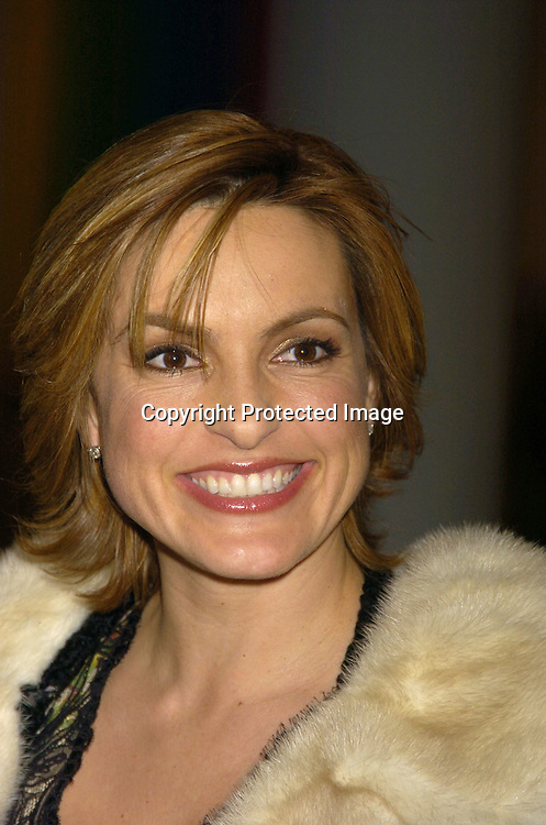 Mariska Hargitay ..at the NYC and Company dinner honoring leaders in ..Tourism:  including American Express's Ken Chenault, ..NBC Universal's Bob Wright, Nicole Miller and Joseph Spinnato  on December 13, 2004 at the Museum of Modern ..Art. ..Photo by Robin Platzer, Twin Images
