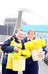 Sarah Barron and Claudine Healy on Daffoldil Day...Photo NEWSFILE/Jenny Matthews.(Photo credit should read Jenny Matthews/NEWSFILE)....This Picture has been sent you under the condtions enclosed by:.Newsfile Ltd..The Studio,.Millmount Abbey,.Drogheda,.Co Meath..Ireland..Tel: +353(0)41-9871240.Fax: +353(0)41-9871260.GSM: +353(0)86-2500958.email: pictures@newsfile.ie.www.newsfile.ie.FTP: 193.120.102.198.